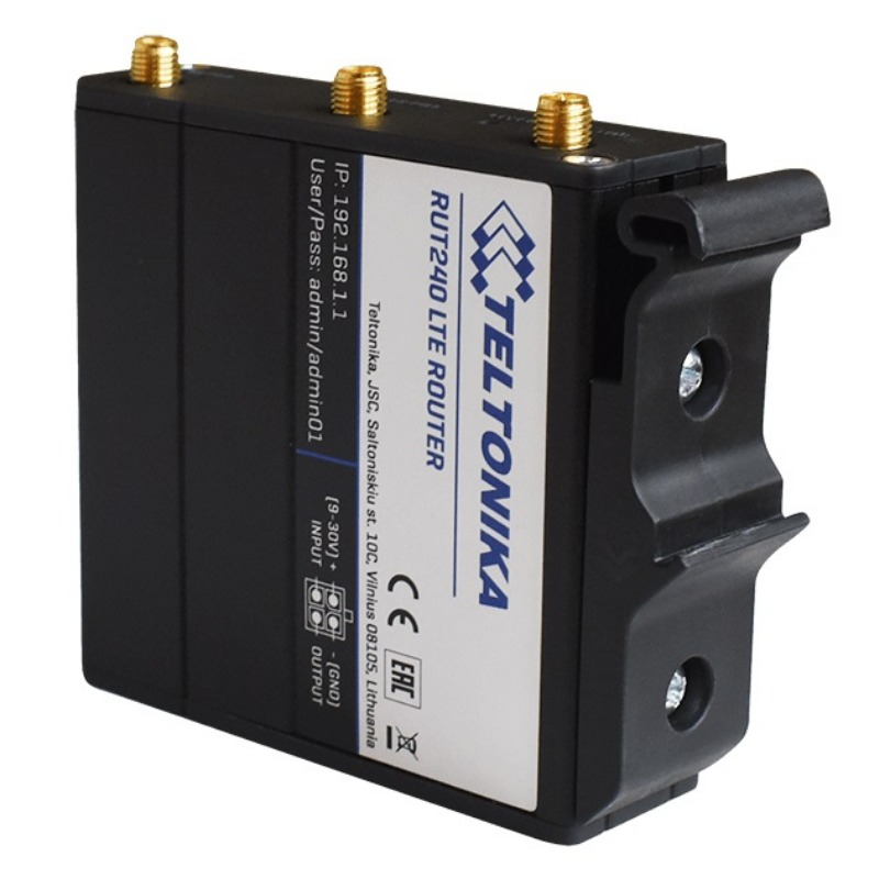 Teltonika DIN Rail Kit - Industrial Option for RUT500 and RUT900