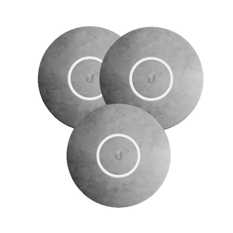 Ubiquiti nHD-cover-Concrete-3 - Concrete Design Upgradable Casing for nanoHD, 3-pack