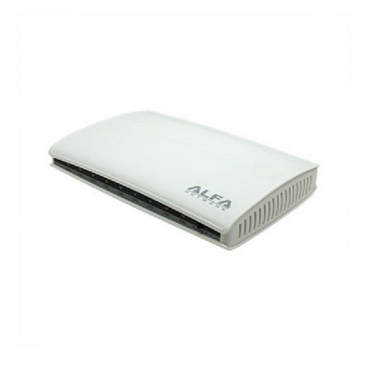 ALFA Network - AGS08V 8-port Gigabit VLAN switch