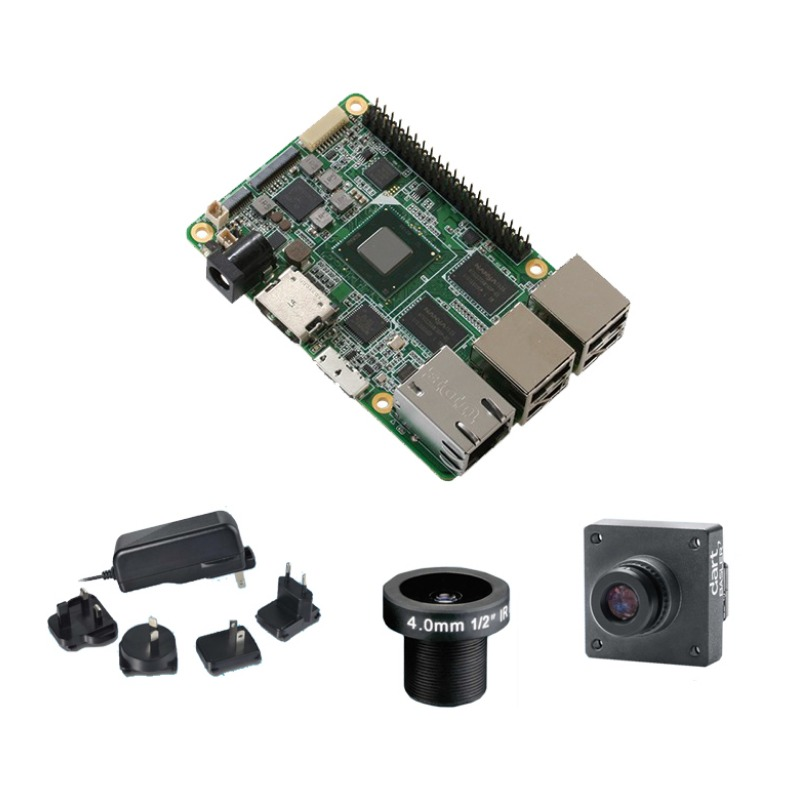 UP Embedded Vision Starter Kit - UP Board, 2 GB RAM, 32 GB eMMC, HD Cam