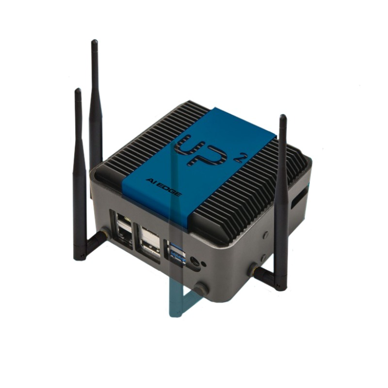 Cortexica Ready System - UP Squared AI Edge-PPE Monitoring, Wi-Fi, BT