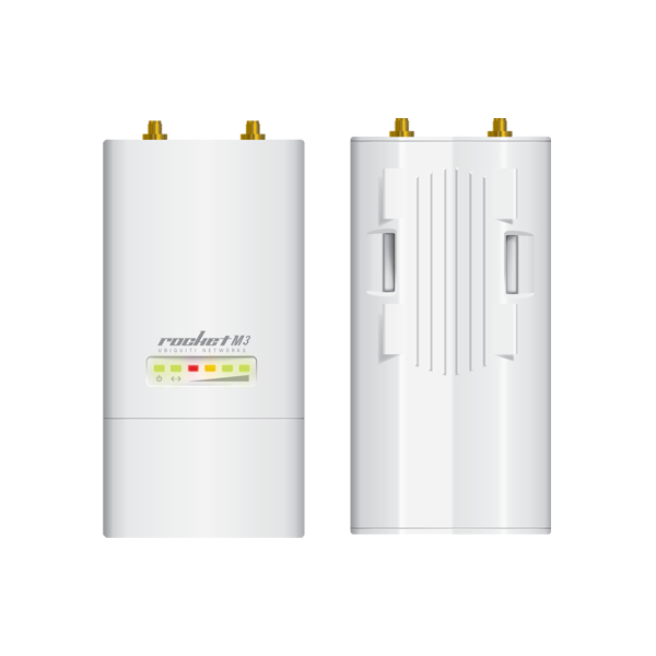 Ubiquiti RocketM3 - 3 GHz Hi-Power 2x2 MIMO AirMax TDMA BaseStation