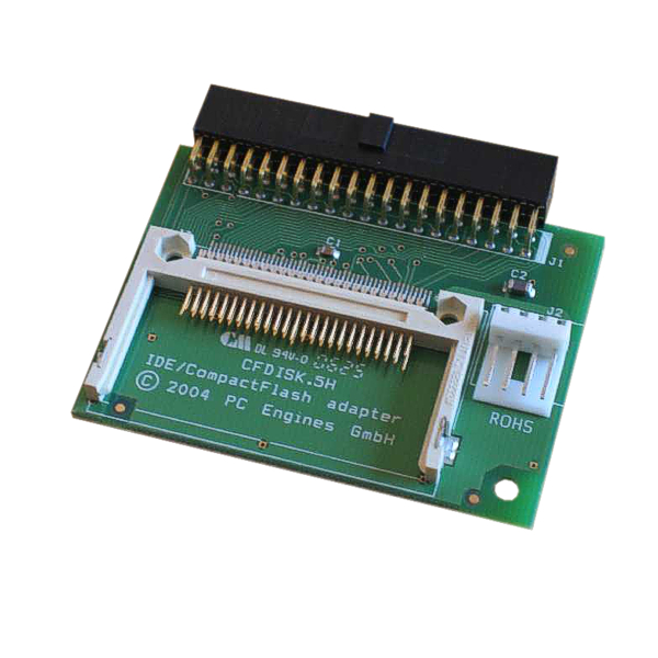 PC Engines CFDISK.5H - IDE to CompactFlash adapter, direct plug, right angle