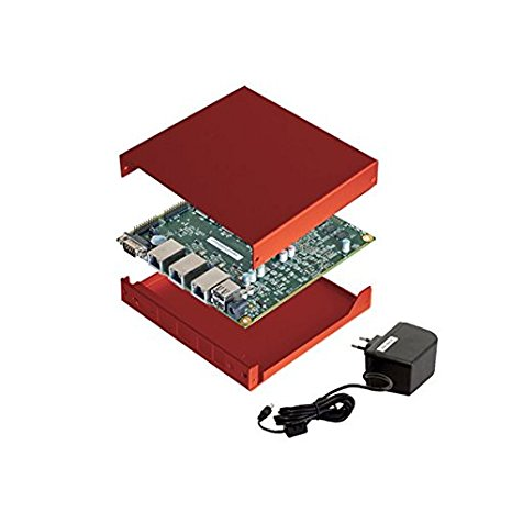 PC Engines APU2C4 Bundle - Board, PSU, Memory, Enclosure