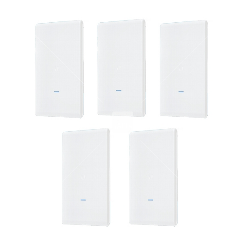UBNT UAP-AC-M-PRO-5 - 802.11AC AP with Plug & Play Mesh, 5er-Pack
