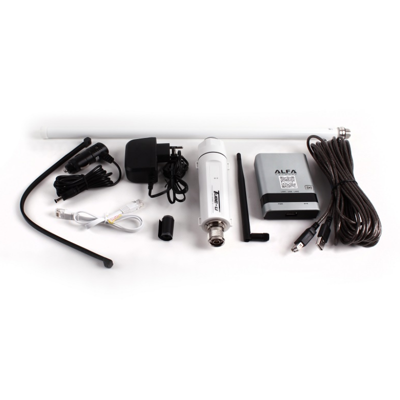 ALFA CampPro2 Kit - R36A, Tube-U(N), AOA-2409TF and Accessories