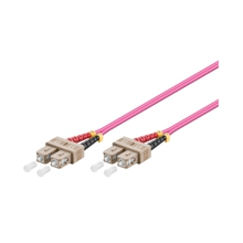 LWL-Kabel, 0.5 m, Duplex OM4 (Multimode, 50/125) SC/SC, Good Connections(R)