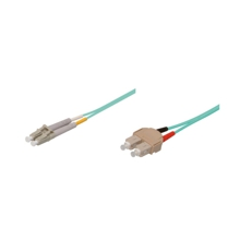 LWL-Kabel, 5 m, Duplex OM3 (Multimode, 50/125) SC/LC, Good Connections(R)