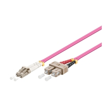 LWL-Kabel, 7.5 m, Duplex OM4 (Multimode, 50/125) LC/SC, Good Connections(R)