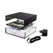 PC Engines APU2E2 Embedded Box Starter Kit - 1 GHz, 2 GB RAM, 3x LAN