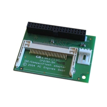 PC Engines CFDISK.5HS, IDE - CompactFlash-Adapter, parallel zum Motherboard