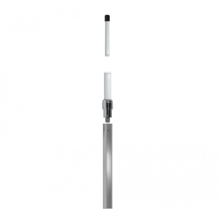 Delock LPWAN 824 - 896 MHz Antenna N jack 10 dBi 223 cm omnidirectional fixed wall and pole mounting outdoor white