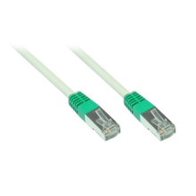 Patchkabel Cat. 5e - 5 m, F/UTP, crossover, grau