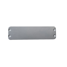 PC Engines - Additional enclosure plate for ALIX.3C1/3D1 (blank), aluminum