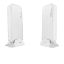 MikroTik Wireless Wire - Pair of preconfigured wAPG-60ad devices for 60 GHz link