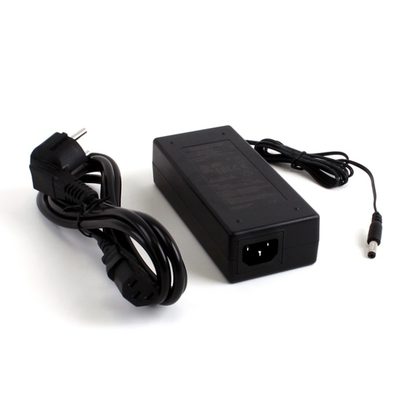MikroTik 48V2A96W - High-power 48 V, 2 A, 96 W power supply + power plug