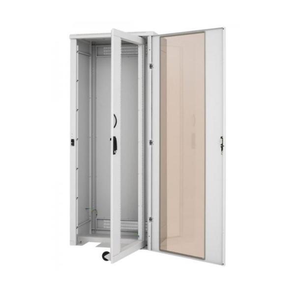 Verteiler Mit Schwenkrahmen Rechts Mit Tür, 42 HE, 800 X