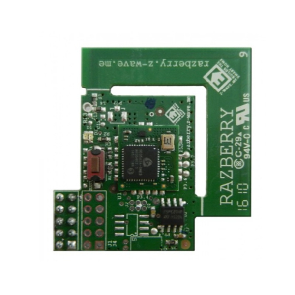 RaZberry2 (IND) - Z-Wave Plug-On Module for Raspberry Pi (Indian frequency)