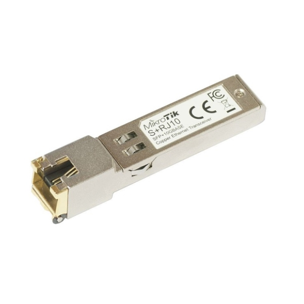 MikroTik S+RJ10 - RJ45 SFP+ 10/100/1000M 2 5G/5G/10G Copper Module
