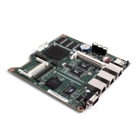 PC Engines - ALIX.2E13 Mainboard, 500 MHz, 3x LAN, 1x Mini-PCI, IDE, USB