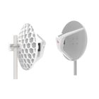 MikroTik Wireless Wire Dish - Pair of preconfigured LHGG-60ad devices