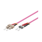 LWL-Kabel, 3 m, Duplex OM4 (Multimode, 50/125) SC/ST, Good Connections(R)
