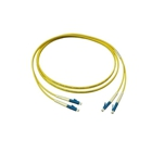 Fiber optic cable, 5 m, Duplex OS2 (Singlemode, 9/125) LC/LC, Good Connections(R)