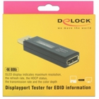Delock DisplayPort Tester - for EDID information with OLED display