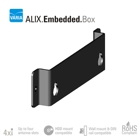 VARIA's PC Engines ALIX, APU1D Embedded Box Wall/Ground Mounting Kit