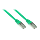 Patch Cable Cat. 5e - 1 m, F/UTP, green