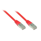 Patch Cable Cat. 5e - 1 m, F/UTP, red