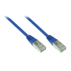 Patch Cable Cat. 5e - 1 m, F/UTP, blue