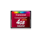 Transcend TS4GCF170 - 4GB Industrial Grade CompactFlash Card
