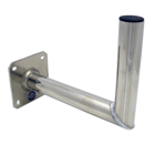 Televes Angle Wall Bracket, Aluminum, TÜV Approved, 350 mm
