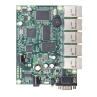 MikroTik RouterBOARD 450 (RB450, RB/450) Level 4, 300 MHz