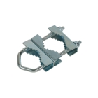 Clamp for Mast Mount, 140 mm, Galvanized Steel