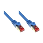 Patch Cable Cat. 6 - 0.5 m, S/FTP, PiMF, blue