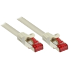 Patch Cable Cat. 6 - 3 m, S/FTP, PiMF, gray