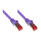 Patch Cable Cat. 6 - 1.5 m, S/FTP, PiMF, violet