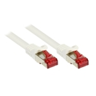 Patch Cable Cat. 6 - 0.25 m, S/FTP, PiMF, white