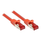 Patch Cable Cat. 6 - 0.5 m, S/FTP, PiMF, orange