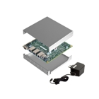 PC Engines APU1D Bundle (Board, Power Supply, Memory, Case)